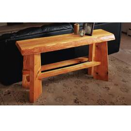 Slab Top Sofa Table...
