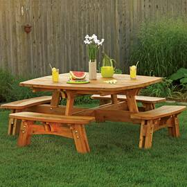 Square Picnic Table...
