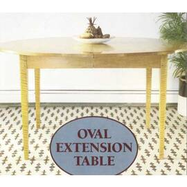 Oval Extension Table...